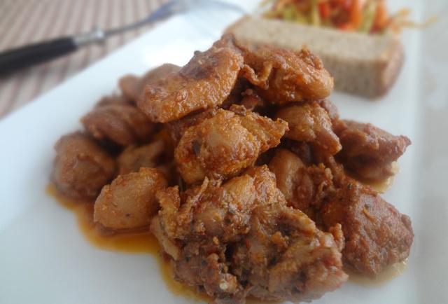 Soya Soslu Sarımsaklı Tavuk