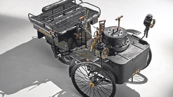 dünyanın en eski arabası